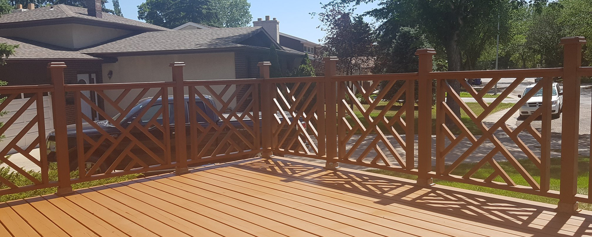 Hard Wood Deck